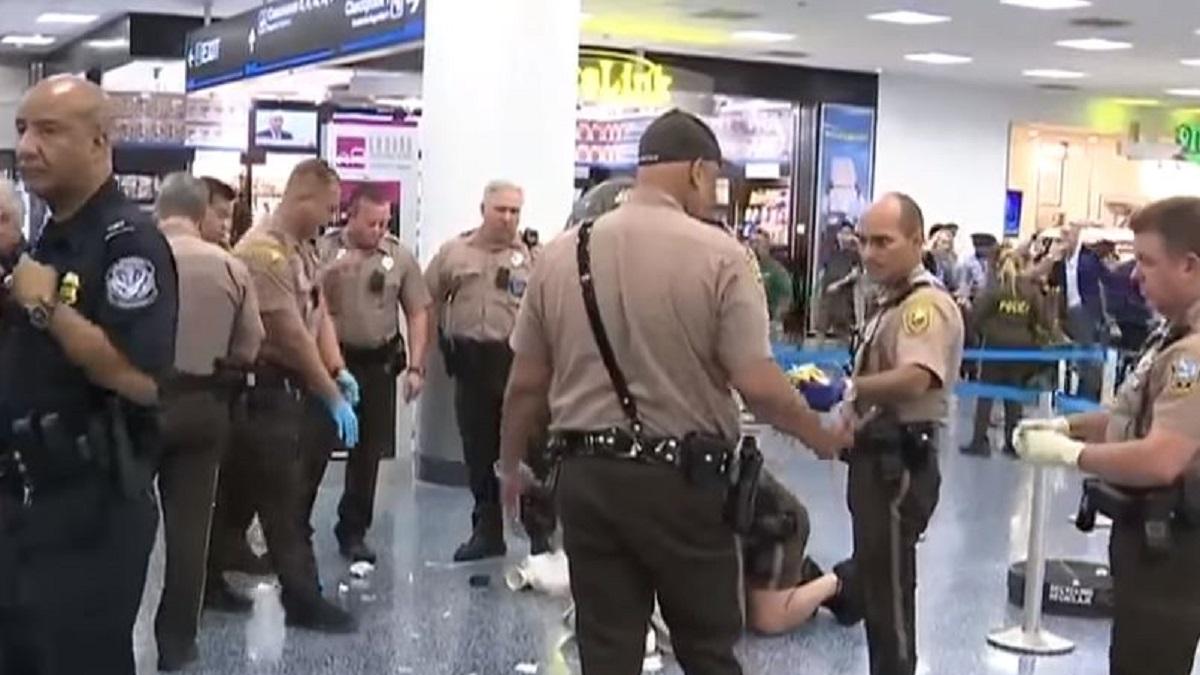 Miami Airport Arrest