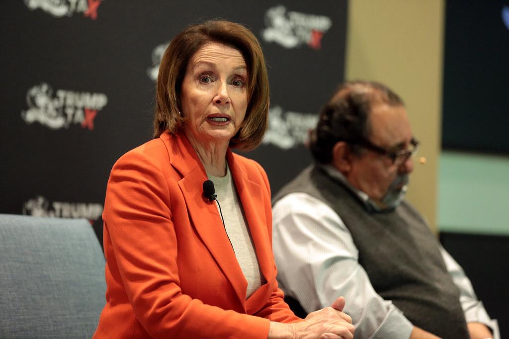Democrat Nancy Pelosi