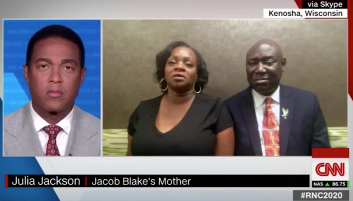Jacob Blake's mother speaking to Don Lemon on CNN