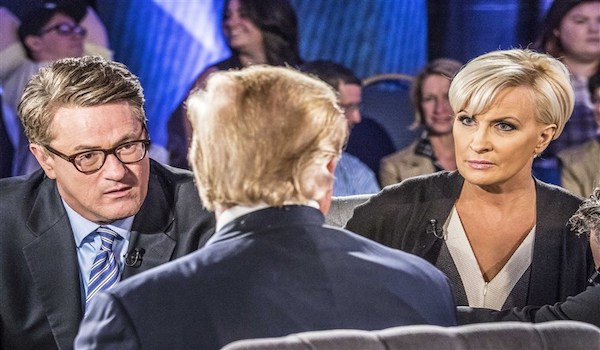 Trump Mika Joe MSNBC President Fake News