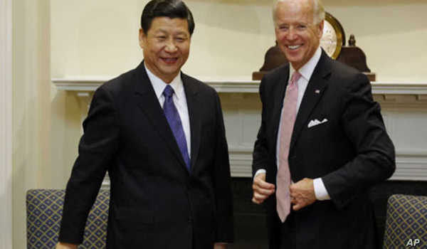 Biden China Xi
