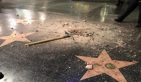 President trump hollywood walk of fame