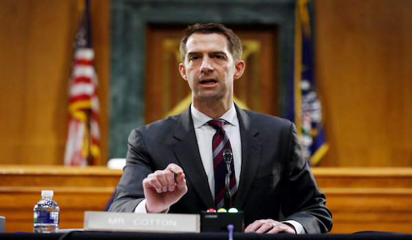 Mayorkas Tom Cotton DHS chief Joe Biden EB-5 Visa