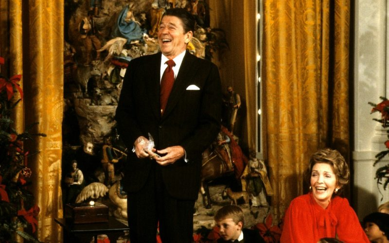 A Touch of Christmas Spirit from Ronald Reagan