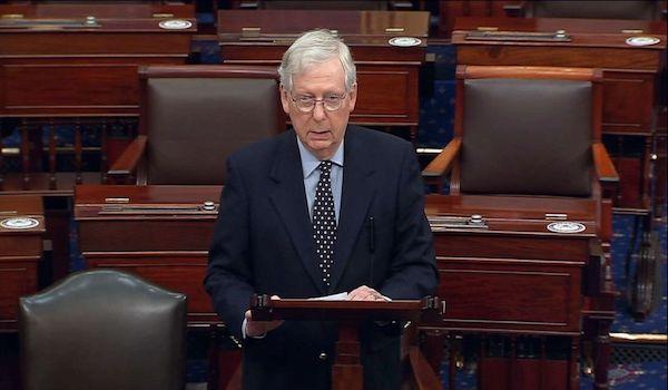 Senate stimulus relief covid bill mcconnell