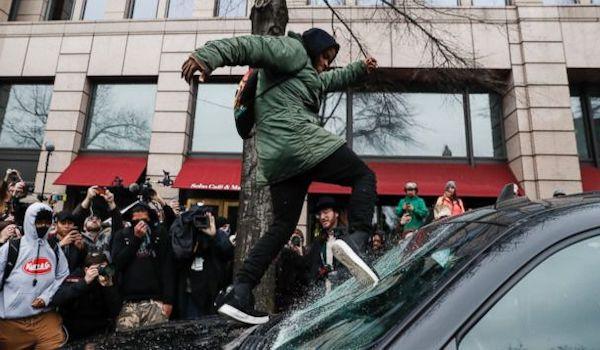 lefties Trump riot inaugeration president MAGA