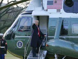 Trump White House Marine One