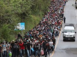 Biden border immigration caravan