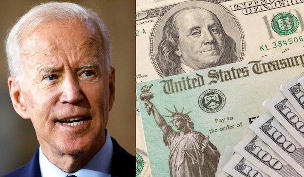 Biden covid bill stimulus white black minorities
