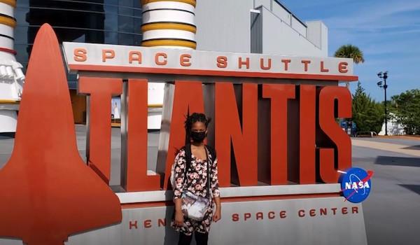 Alena Wicker NASA college girl