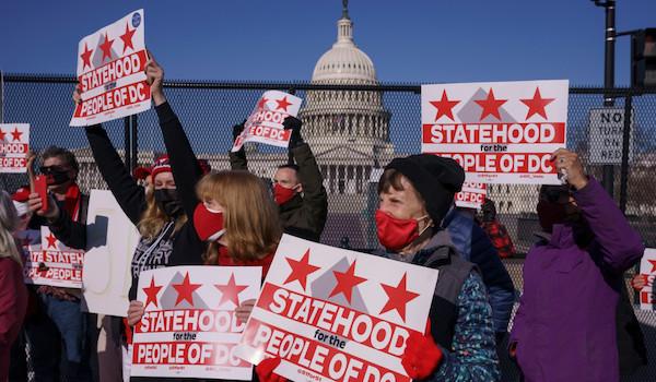 dc statehood vote Democrats