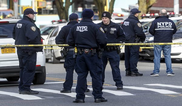 NYPD dead body arrest