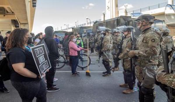 BLM riot national guard washington dc