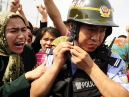CHina CCP arrest woman