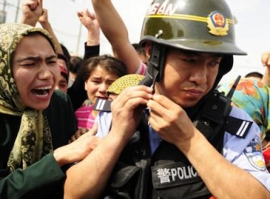 CHina CCP arrest woman