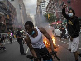 new york city BLM riot