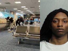 miami airport fight black crime