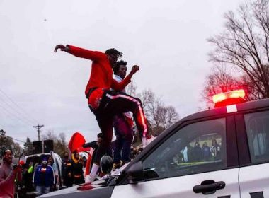 Daunte wright police shooting BLM riots brooklyn center