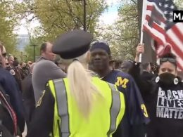 BLM Disrupts Fallen Officers Memorial Shouting 'F- The Police'