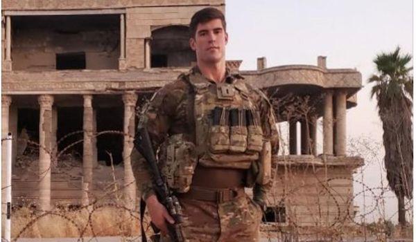Jake Bequette patriots NFL soldier