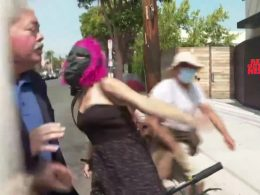 Hate Crime Committed Against Republican, Caught on Cam